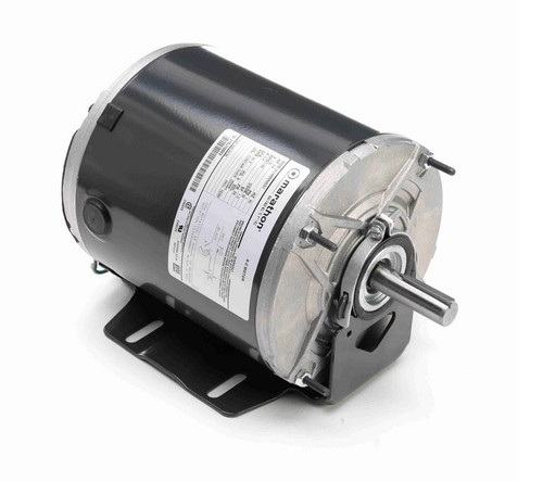 H136 Marathon 1/4 hp 1200 RPM 115V TENV 48 Frame Split-Phase Farm Motor