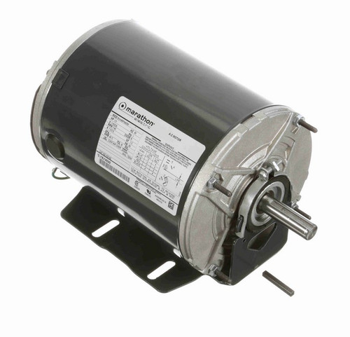 HG142 Marathon 1/3 hp 1200 RPM 115/230V TENV 56 Frame Split-Phase Farm Motor