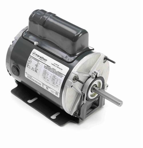 P251 Marathon 1/2 hp 1200 RPM 115/230V TENV 48Z Frame PSC Farm Motor
