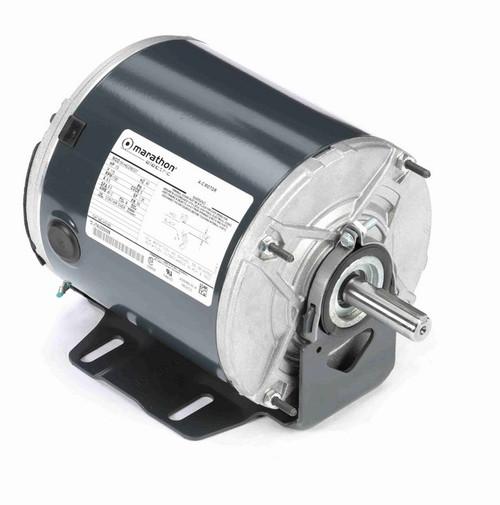 HG143 Marathon 1/2 hp 1600 RPM 115V TENV 56 Frame Split-Phase Farm Motor