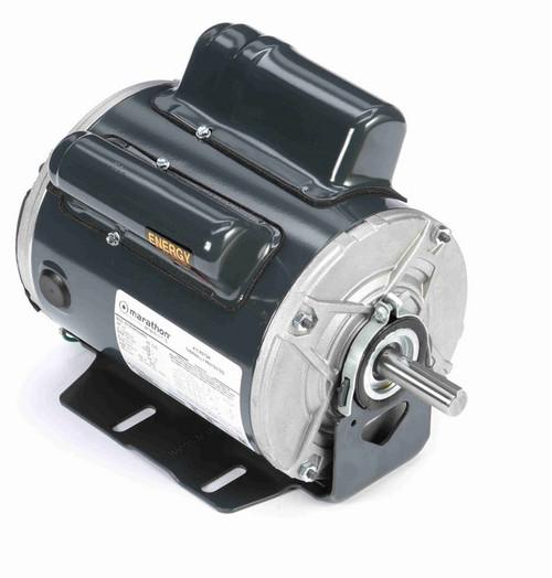 C1314 Marathon 3/4 hp 1800/1500 RPM 115/208-230V TENV 56 Frame Cap Start/Run Farm Motor