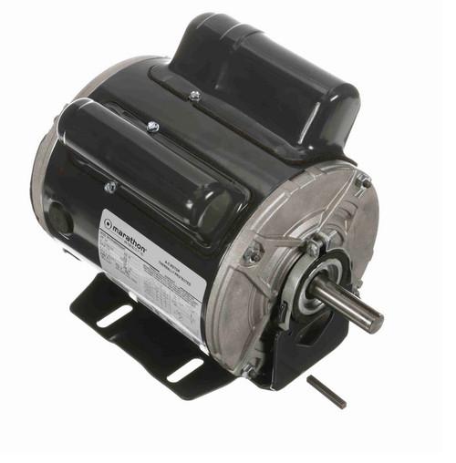 C1303 Marathon 3/4 hp 1800 RPM 115/208-230V TENV 56 Frame Cap Start/Run Farm Motor