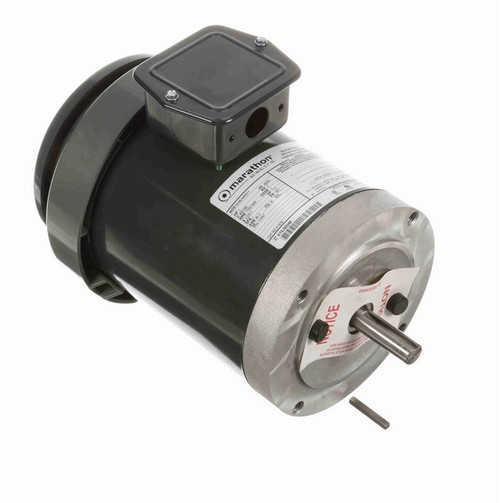 K1476 Marathon 1 hp 3-Phase 1800/1500 RPM 460/380V TENV 56C Frame Irrigation Motor