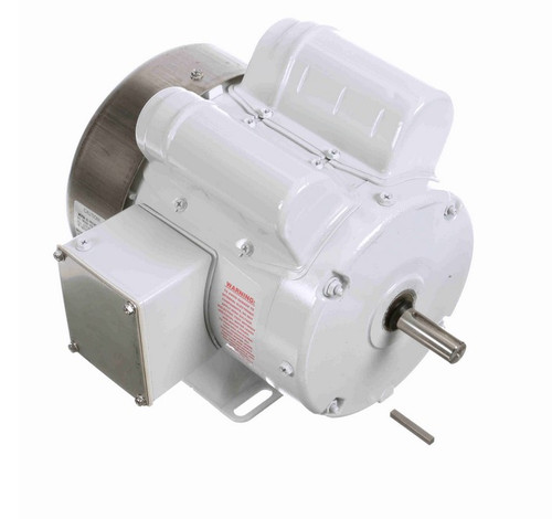 N680 Marathon 1/2 hp 1800 RPM 115/208-230V 1-Phase 56Z Frame TEFC (rigid base) Washdown Motor