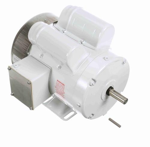 N682 Marathon 1 hp 1800 RPM 115/208-230V 1-Phase 56 Frame TEFC (rigid base) Washdown Motor