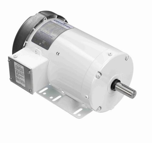 N312A Marathon 2 hp 1800 RPM 230/460V 3-Phase 145T Frame TEFC (rigid base) Washdown Motor