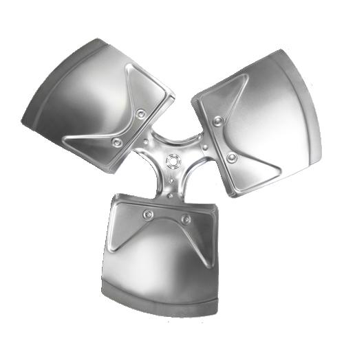 "XW1803-27RA Revcor Fan Blade, 18 Inch Dia, Three Blade, 27 Degree Pitch, CW, 1/2"" Hub Bore"