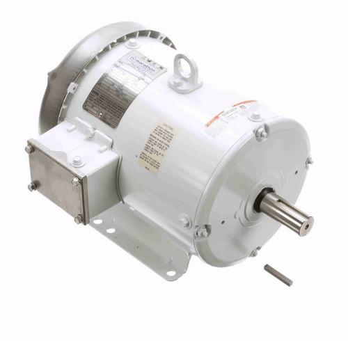 N315A Marathon 5 hp 3600 RPM 230/460V 3-Phase 184T Frame TEFC (rigid base) Washdown Motor
