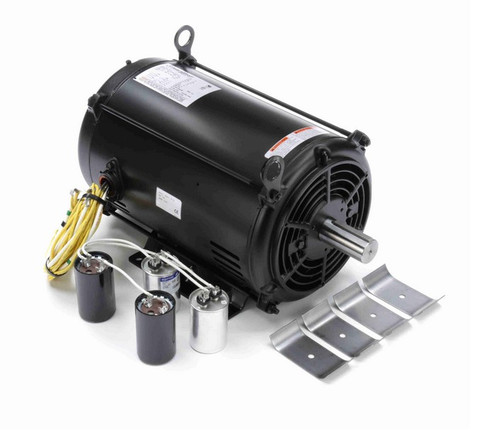 Z126 Marathon 10 hp 1-speed 230V 1800 RPM ODP 215TZ Frame (rigid base) Full Duty Fan Motor