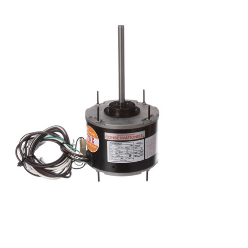 1/6 hp 1075 RPM, 1-Speed, 208-230V, 70°C Condenser Motor Century # FE1016SF