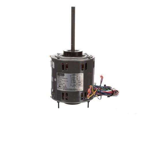 "Fasco D728 Motor | 3/4 hp 1075 RPM 3-Speed 115 Volts 5.6"" Diameter Fasco Furnace Motor"
