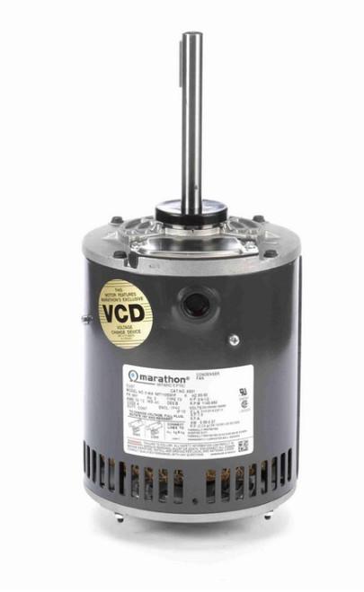 X501 Marathon 3/4 hp 3-phase 200-230/460V 1200 RPM OPAO 56Y Frame Condenser Fan Motor