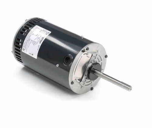 X527 Marathon 1 hp 3-phase 575V 900 RPM OPAO 56Y Frame Condenser Fan Motor