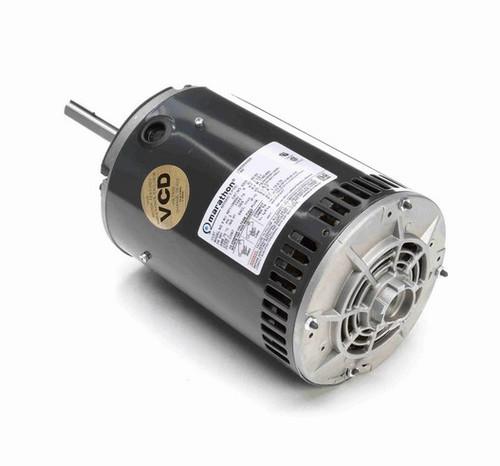 X503 Marathon 1 1/2 hp 3-phase 200-230/460V 1200 RPM OPAO 56Y Frame Condenser Fan Motor