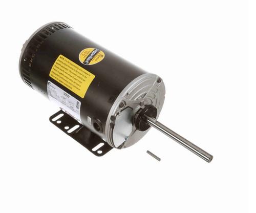 H1053RBV1 Century 1 hp 3-phase 200-230/460V 900 RPM OPAO 56HZ Frame Condenser Fan Motor