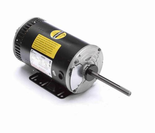 H1052RBV1 Century 2 hp 3-phase 200-230/460V 1200 RPM OPAO 56HZ Frame Condenser Fan Motor