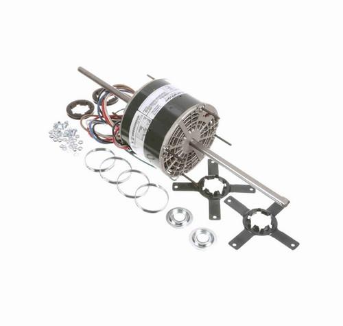 X040 Marathon 1/4 hp 208-230V 1800 RPM (3 speed) OPAO 48Y Frame Double-Shaft Blower Motor