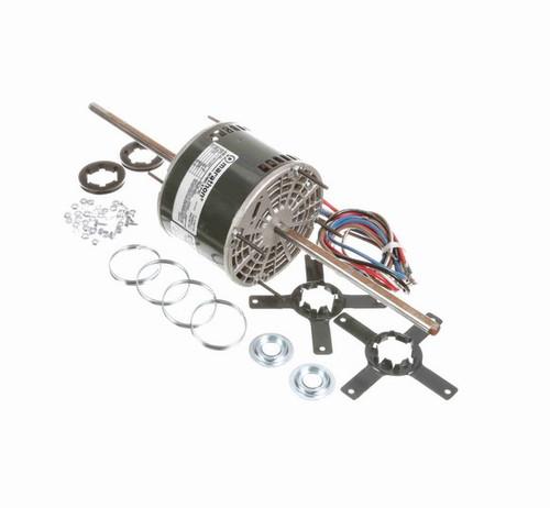 X044 Marathon 1/4 hp 208-230V 1200 RPM (3 speed) OPAO 48Y Frame Double-Shaft Blower Motor