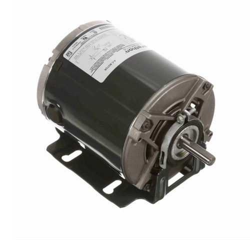 4304 Marathon 1/6 hp (1 speed) 115V 1800 RPM ODP 48 Frame Resilient Base  Blower Motor