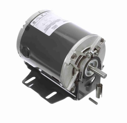 4350 Marathon 1/6 hp (1 speed) 115V 1800 RPM ODP 56Z Frame Resilient Base  Blower Motor