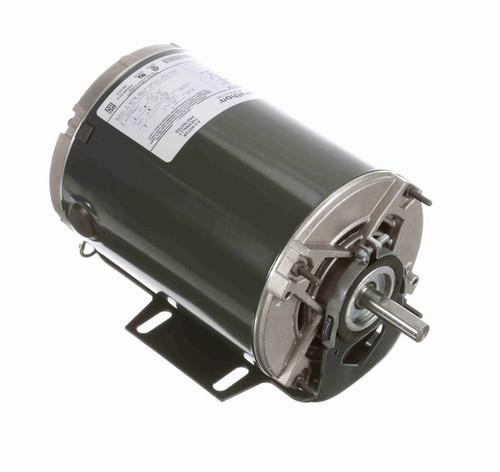 4399 Marathon 1/4 hp (2 speed) 115V 1800/1200 RPM ODP 48 Frame Resilient Base  Blower Motor