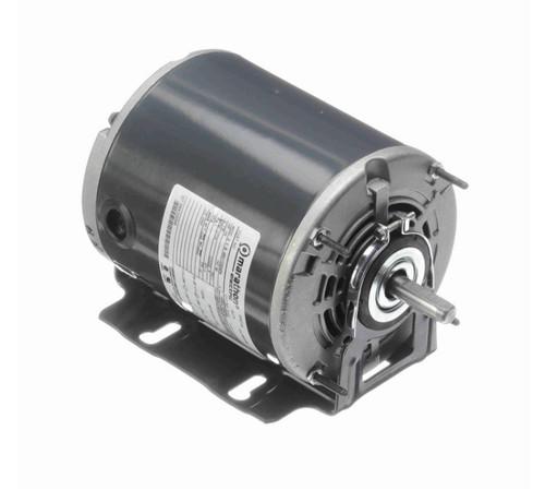 S102 Marathon 1/4 hp (1 speed) 115V 1800 RPM ODP 48 Frame Resilient Base  Blower Motor