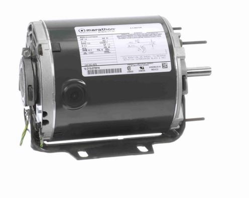 H675 Marathon 1/4 hp (1 speed) 115V 1800 RPM ODP 48 Frame Resilient Base  Blower Motor