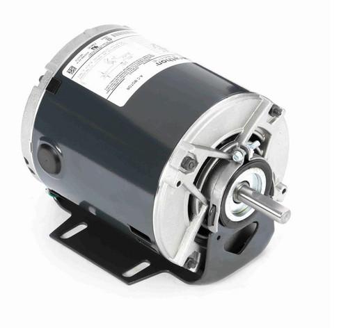 4355 Marathon 1/4 hp (1 speed) 115V 1800 RPM ODP 48 Frame Resilient Base  Blower Motor