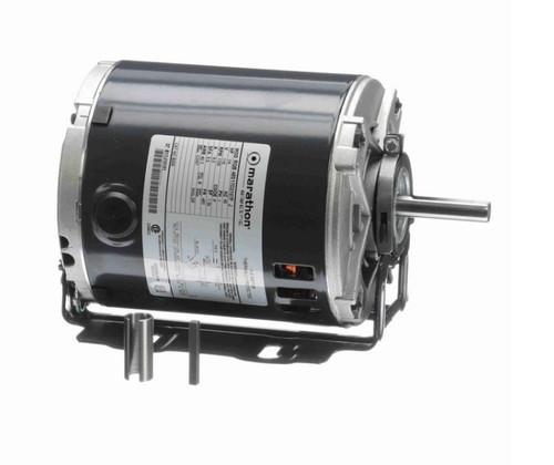 B206 Marathon 1/4 hp (1 speed) 115V 1800 RPM ODP 48Z Frame Resilient Base  Blower Motor