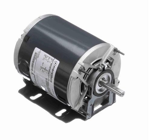 B302 Marathon 1/4 hp (1 speed) 115V 1800 RPM ODP 48Z Frame Resilient Base  Blower Motor