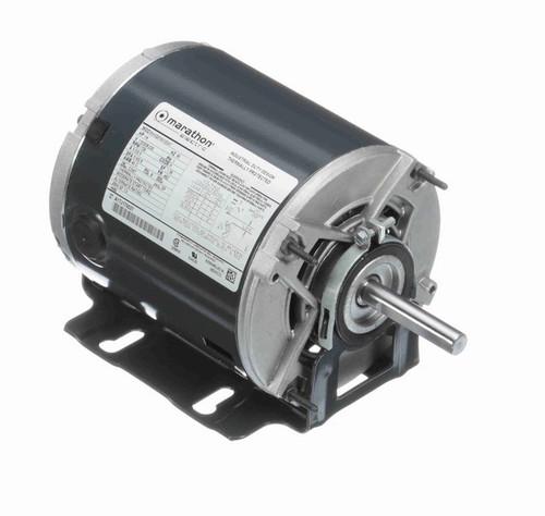 4680 Marathon 1/4 hp (1 speed) 115208/230V 1800 RPM ODP 48Z Frame Resilient Base  Blower Motor