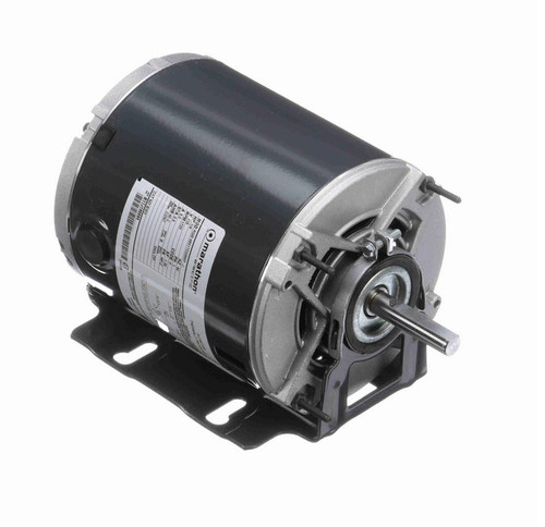 B303 Marathon 1/4 hp (1 speed) 115V 1800 RPM ODP 48Y Frame Resilient Base  Blower Motor