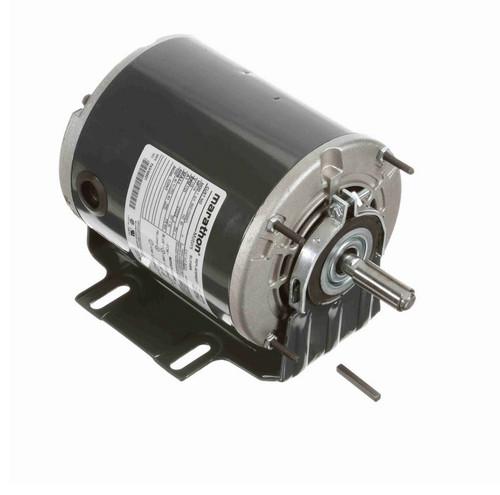 B201 Marathon 1/4 hp (1 speed) 115V 1800 RPM ODP 56Z Frame Resilient Base  Blower Motor