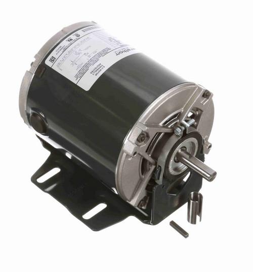 4363 Marathon 1/4 hp (1 speed) 115V 1800 RPM ODP 56Z Frame Resilient Base  Blower Motor