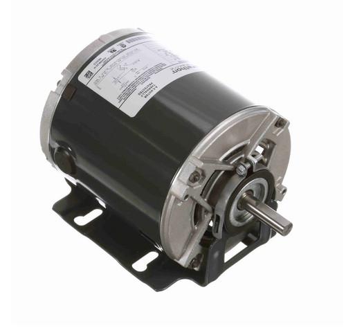 4306 Marathon 1/4 hp (1 speed) 230V 1800 RPM ODP 48 Frame Resilient Base  Blower Motor