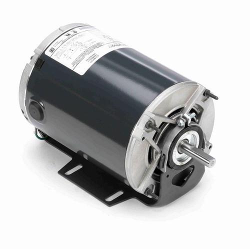 4319 Marathon 1/3 hp (2 speed) 115V 1800/1200 RPM ODP 48 Frame Resilient Base  Blower Motor