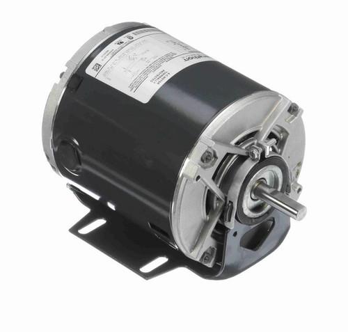 4310 Marathon 1/3 hp (1 speed) 115V 1800 RPM ODP 48 Frame Resilient Base  Blower Motor