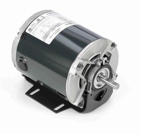 4309 Marathon 1/3 hp (1 speed) 230V 1800 RPM ODP 48 Frame Resilient Base  Blower Motor