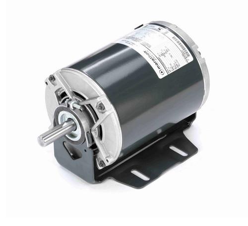 4392 Marathon 1/2 hp (1 speed) 115V 1800 RPM ODP 56 Frame Resilient Base  Blower Motor