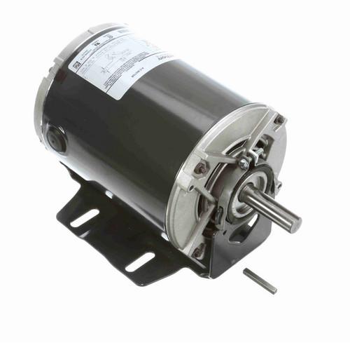 4390 Marathon 1/2 hp (1 speed) 115V 1800 RPM ODP 56 Frame Resilient Base  Blower Motor
