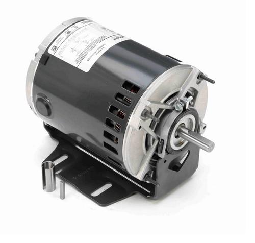 4778 Marathon 1/2 hp (1 speed) 115V 1800 RPM ODP 56Z Frame Resilient Base  Blower Motor