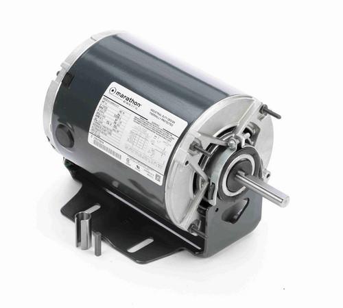 4684 Marathon 1/2 hp (1 speed) 115/230V 1800 RPM ODP 56Z Frame Resilient Base  Blower Motor
