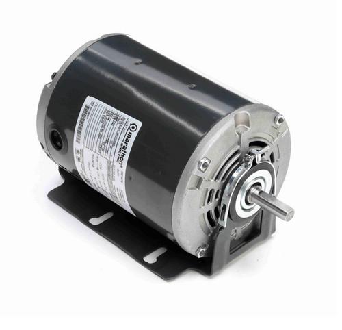 D163 Marathon 1/2 hp (1 speed) 230V 1800 RPM ODP 48Y Frame Resilient Base  Blower Motor