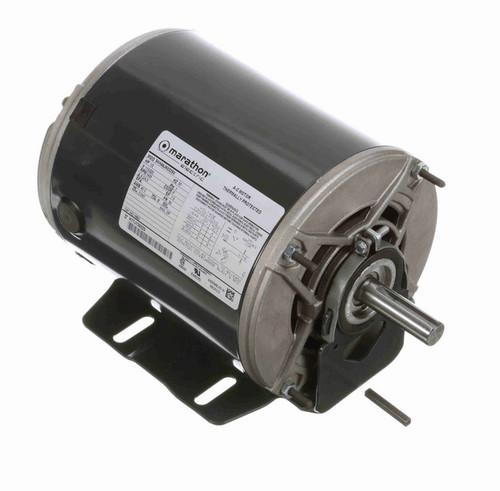 H693 Marathon 1/2 hp (1 speed) 111/220V 1500 RPM ODP 56 Frame Resilient Base  Blower Motor