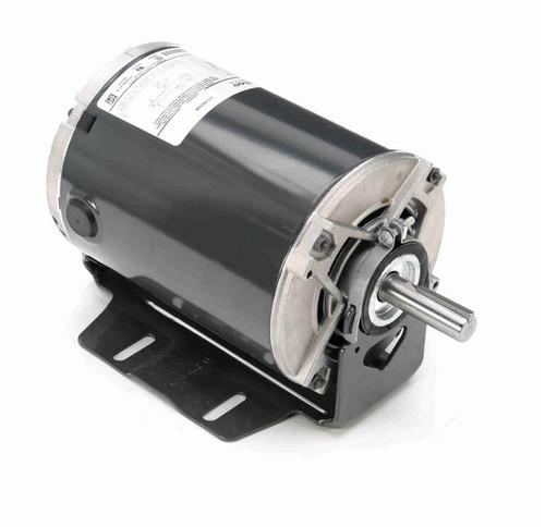 4422 Marathon 3/4 hp (1 speed) 115V 1800 RPM ODP 56 Frame Resilient Base  Blower Motor
