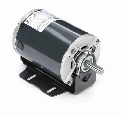 4338 Marathon 3/4 hp (1 speed) 115V 1800 RPM ODP 56 Frame Resilient Base  Blower Motor