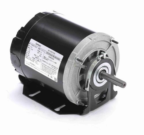 BF20086V1 Century 1/8 hp (1 speed) 115V 1200 RPM ODP 48 Frame Resilient Base  Blower Motor