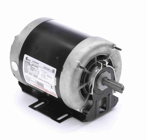 BF2008 Century 1/8 hp (1 speed) 115V 900 RPM ODP 56 Frame Resilient Base  Blower Motor