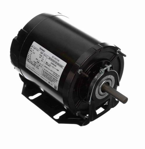 919L Century 1/4 hp (1 speed) 115V 1800 RPM ODP 48Z Frame Resilient Base  Blower Motor