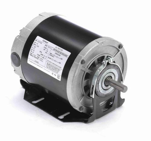 GF2035 Century 1/3 hp (1 speed) 220V 1500 RPM OPEN 48 Frame Resilient Base  Blower Motor